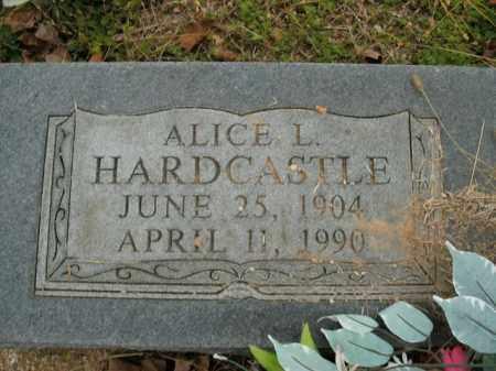 HARDCASTLE, ALICE L. - Boone County, Arkansas   ALICE L. HARDCASTLE - Arkansas Gravestone Photos