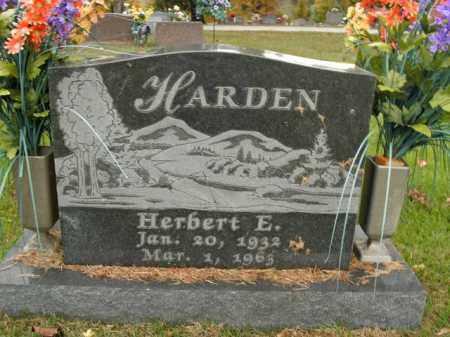 HARDEN, HERBERT EUGENE - Boone County, Arkansas | HERBERT EUGENE HARDEN - Arkansas Gravestone Photos