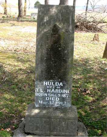 HARDING, HULDA - Boone County, Arkansas | HULDA HARDING - Arkansas Gravestone Photos