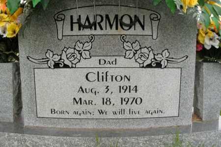 HARMON, CLIFTON - Boone County, Arkansas | CLIFTON HARMON - Arkansas Gravestone Photos