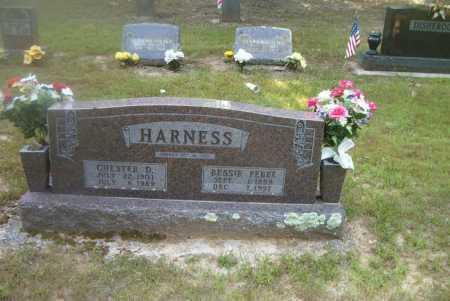 HARNESS, CHESTER D. - Boone County, Arkansas   CHESTER D. HARNESS - Arkansas Gravestone Photos