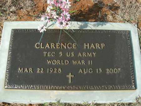 HARP  (VETERAN WWII), CLARENCE - Boone County, Arkansas | CLARENCE HARP  (VETERAN WWII) - Arkansas Gravestone Photos
