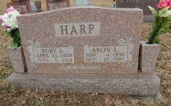 HARP, ARLIN LEE - Boone County, Arkansas | ARLIN LEE HARP - Arkansas Gravestone Photos
