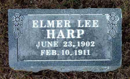 HARP, ELMER LEE - Boone County, Arkansas | ELMER LEE HARP - Arkansas Gravestone Photos