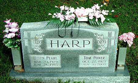 HARP, TOM PONER - Boone County, Arkansas   TOM PONER HARP - Arkansas Gravestone Photos