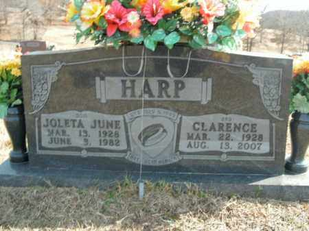 HARP, JOLETA JUNE - Boone County, Arkansas | JOLETA JUNE HARP - Arkansas Gravestone Photos