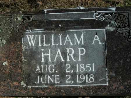 HARP, WILLIAM A. - Boone County, Arkansas | WILLIAM A. HARP - Arkansas Gravestone Photos