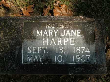 HARPE, MARY JANE - Boone County, Arkansas | MARY JANE HARPE - Arkansas Gravestone Photos