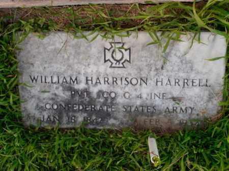 HARRELL  (VETERAN CSA), WILLIAM HARRISON - Boone County, Arkansas | WILLIAM HARRISON HARRELL  (VETERAN CSA) - Arkansas Gravestone Photos