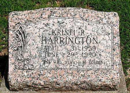 HARRINGTON, KRISTI R. - Boone County, Arkansas | KRISTI R. HARRINGTON - Arkansas Gravestone Photos
