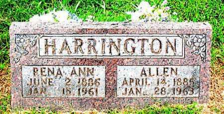 HARRINGTON, ALLEN - Boone County, Arkansas   ALLEN HARRINGTON - Arkansas Gravestone Photos