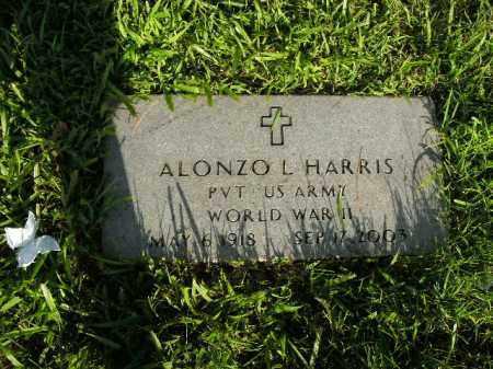 HARRIS  (VETERAN WWII), ALONZO L. - Boone County, Arkansas   ALONZO L. HARRIS  (VETERAN WWII) - Arkansas Gravestone Photos