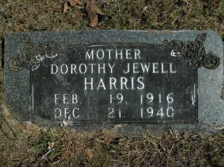HARRIS, DOROTHY JEWELL - Boone County, Arkansas   DOROTHY JEWELL HARRIS - Arkansas Gravestone Photos