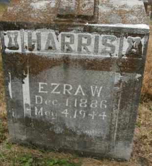HARRIS, EZRA W. - Boone County, Arkansas   EZRA W. HARRIS - Arkansas Gravestone Photos