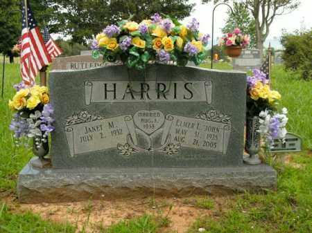 "HARRIS, ELMER L. ""JOHN"" - Boone County, Arkansas   ELMER L. ""JOHN"" HARRIS - Arkansas Gravestone Photos"