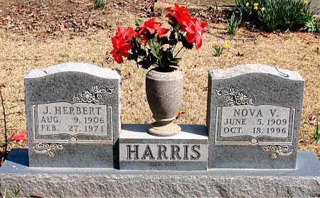 HARRIS, NOVA V. - Boone County, Arkansas | NOVA V. HARRIS - Arkansas Gravestone Photos