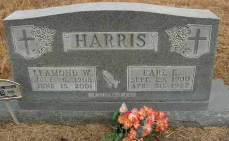 HARRIS, EARL EARNEST - Boone County, Arkansas | EARL EARNEST HARRIS - Arkansas Gravestone Photos