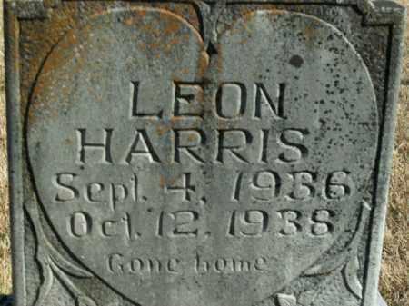 HARRIS, LEON - Boone County, Arkansas   LEON HARRIS - Arkansas Gravestone Photos