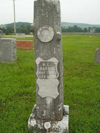 HARRIS, N.E. - Boone County, Arkansas | N.E. HARRIS - Arkansas Gravestone Photos