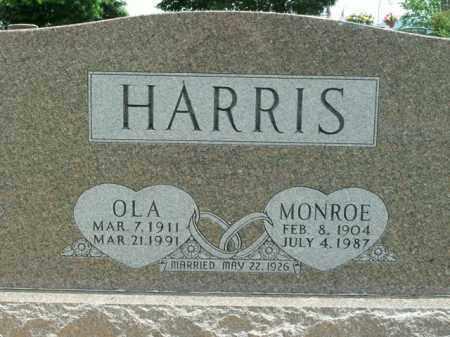 HARRIS, OLA - Boone County, Arkansas | OLA HARRIS - Arkansas Gravestone Photos