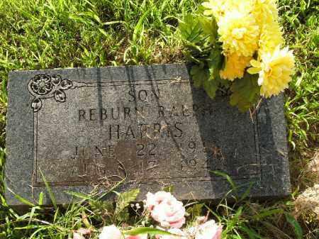 HARRIS, REBURN RALPH - Boone County, Arkansas   REBURN RALPH HARRIS - Arkansas Gravestone Photos