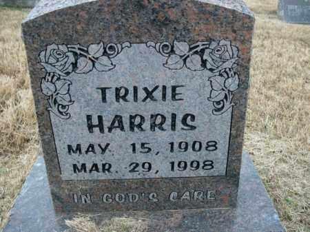 HARRIS, TRIXIE - Boone County, Arkansas | TRIXIE HARRIS - Arkansas Gravestone Photos
