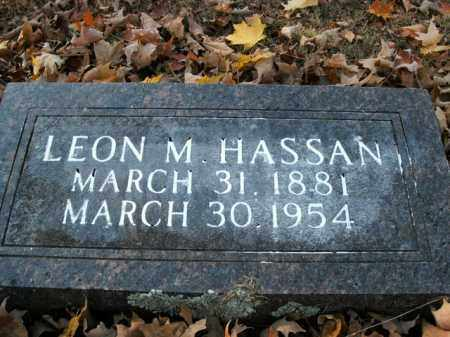 HASSAN, LEON M. - Boone County, Arkansas | LEON M. HASSAN - Arkansas Gravestone Photos