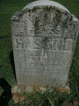 HASTING, WILLIAM M. - Boone County, Arkansas   WILLIAM M. HASTING - Arkansas Gravestone Photos