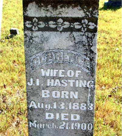 HASTING, CLARENCE - Boone County, Arkansas   CLARENCE HASTING - Arkansas Gravestone Photos
