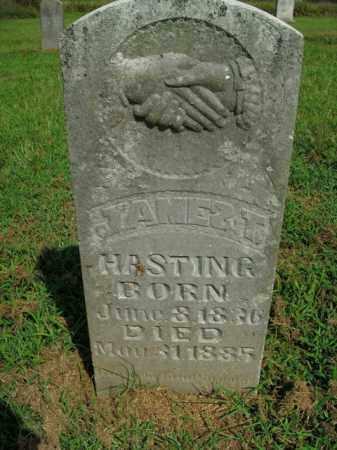 HASTING, JAMES T. - Boone County, Arkansas   JAMES T. HASTING - Arkansas Gravestone Photos