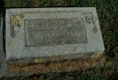 HASTING, INFANT DAUGHTER - Boone County, Arkansas | INFANT DAUGHTER HASTING - Arkansas Gravestone Photos