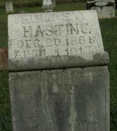 HASTING, THOMAS W. - Boone County, Arkansas   THOMAS W. HASTING - Arkansas Gravestone Photos