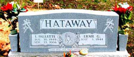 HATAWAY, I. PAULETTE - Boone County, Arkansas | I. PAULETTE HATAWAY - Arkansas Gravestone Photos