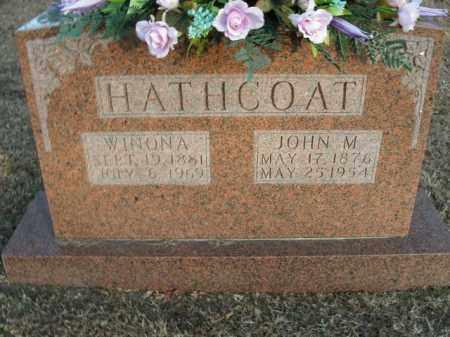 HATHCOAT, WINONA - Boone County, Arkansas | WINONA HATHCOAT - Arkansas Gravestone Photos