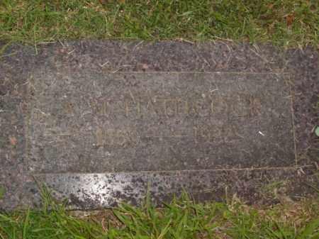 HATHCOCK, ALFRED M. - Boone County, Arkansas   ALFRED M. HATHCOCK - Arkansas Gravestone Photos