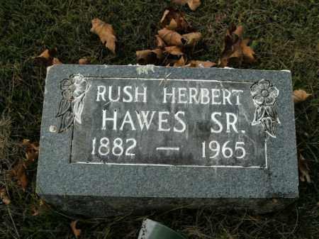 HAWES, RUSH HERBERT SR. - Boone County, Arkansas | RUSH HERBERT SR. HAWES - Arkansas Gravestone Photos