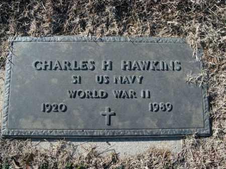 HAWKINS  (VETERAN WWII), CHARLES H - Boone County, Arkansas | CHARLES H HAWKINS  (VETERAN WWII) - Arkansas Gravestone Photos