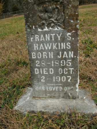 HAWKINS, FRANTY S. - Boone County, Arkansas | FRANTY S. HAWKINS - Arkansas Gravestone Photos