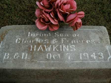 HAWKINS, INFANT SON - Boone County, Arkansas   INFANT SON HAWKINS - Arkansas Gravestone Photos