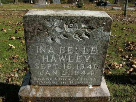 HAWLEY, INA BELLE - Boone County, Arkansas | INA BELLE HAWLEY - Arkansas Gravestone Photos