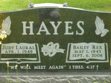 HAYES, BAILEY REX - Boone County, Arkansas | BAILEY REX HAYES - Arkansas Gravestone Photos