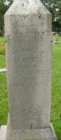 HAYES, ISAAC H. - Boone County, Arkansas | ISAAC H. HAYES - Arkansas Gravestone Photos