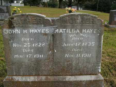 HAYES, MATILDA - Boone County, Arkansas | MATILDA HAYES - Arkansas Gravestone Photos