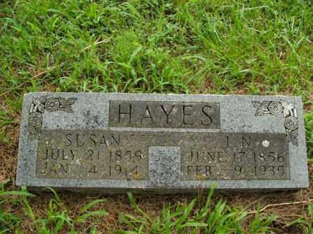 HAYES, SUSAN - Boone County, Arkansas | SUSAN HAYES - Arkansas Gravestone Photos