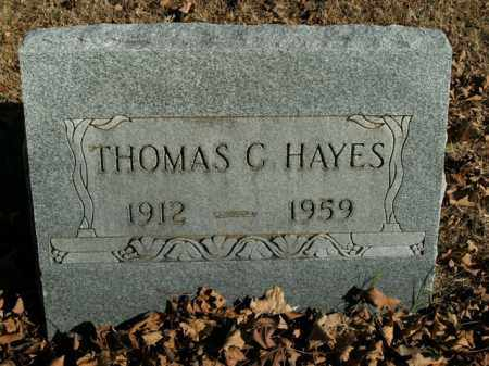 HAYES, THOMAS C. - Boone County, Arkansas | THOMAS C. HAYES - Arkansas Gravestone Photos