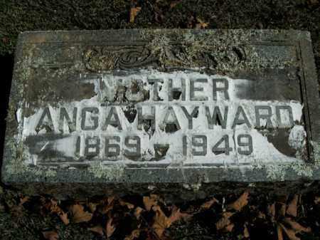 HAYWARD, ANGA - Boone County, Arkansas | ANGA HAYWARD - Arkansas Gravestone Photos