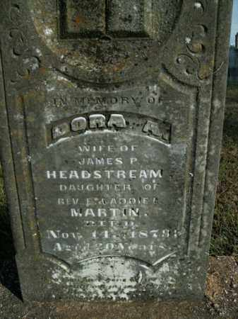 HEADSTREAM, DORA A. - Boone County, Arkansas   DORA A. HEADSTREAM - Arkansas Gravestone Photos