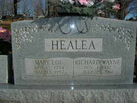 HEALEA, MARY LOU - Boone County, Arkansas | MARY LOU HEALEA - Arkansas Gravestone Photos