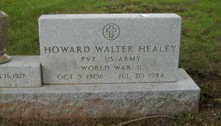 HEALEY  (VETERAN WWII), HOWARD WALTER - Boone County, Arkansas   HOWARD WALTER HEALEY  (VETERAN WWII) - Arkansas Gravestone Photos