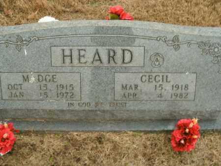 HEARD, WILLIAM CECIL - Boone County, Arkansas | WILLIAM CECIL HEARD - Arkansas Gravestone Photos